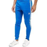adidas Originals 3-Stripes Superstar Track Pants - Blue - Mens