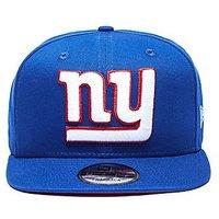 New Era NFL New York Giants 9FIFTY Snapback Cap - Blue - Mens