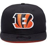 New Era NFL Cincinnati Bengals 9FIFTY Snapback Cap - Black - Mens