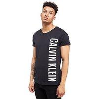 Calvin Klein Side Logo T-Shirt - Black - Mens
