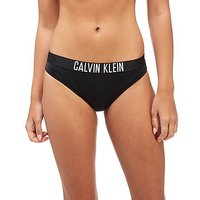 Calvin Klein Tape Bikini Bottoms - Black/White - Womens
