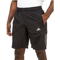 adidas Cargo Shorts - Black/Grey - Mens