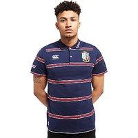 Canterbury British & Irish Lions 2017 Strip Polo Shirt - Navy - Mens