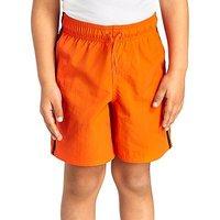 adidas Linear Swim Shorts Children - Energy Orange/Black - Kids