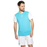 adidas Melbourne T-Shirt - Blue/White - Mens