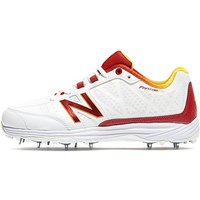 New Balance CK10 RD2 Cricket Shoes - WHITE/WHITE - Mens