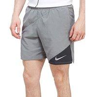 Nike 7 Distance Shorts - Black/Grey - Mens
