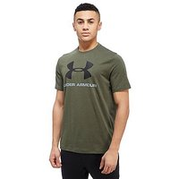 Under Armour Sportstyle Logo T-Shirt - Green - Mens