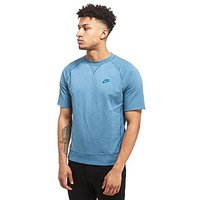 Nike Ultra Wash Crew Sweatshirt - Blue - Mens