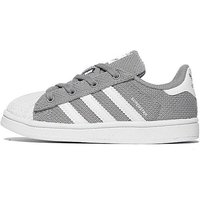 adidas Originals Superstar Trainers - Grey/White - Kids