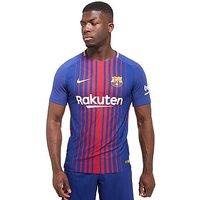 Nike Barcelona 2017/18 Home Vapor Match Shirt - Dark Royal - Mens