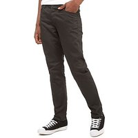 Nanny State Dock Chinos - Dark Charcoal - Mens