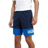 adidas Linear Woven Shorts - Navy/Blue - Mens