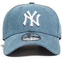 New Era MLB New York Yankees 9FORTY Strapback Cap - Blue/White - Womens