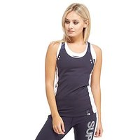 Superdry Speed Sport Tank Top - Navy/White - Womens
