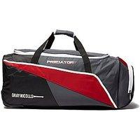 Gray Nicolls Predator 300 Cricket Luggage Bag - Black/Grey - Mens