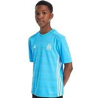 adidas Olympique Marseille 2017/18 Away Shirt Junior - Blue - Kids