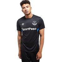 Umbro Everton FC Training Shirt - Black - Mens