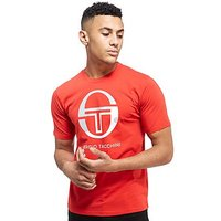 Sergio Tacchini Logo T-Shirt - Red - Mens