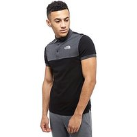 The North Face Colour Block Polo Shirt - Black/Dark Grey - Mens