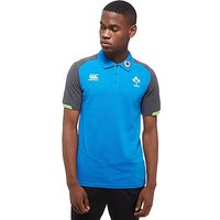 Canterbury Ireland RFU Training Polo Shirt PRE ORDER - Sky Blue - Mens
