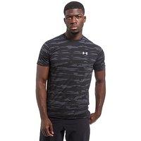 Under Armour TB Run Mesh T-Shirt - Black/Grey - Mens