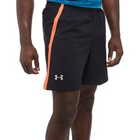 Under Armour Launch 2 In 1 Shorts - Black/Orange - Mens