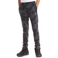 Nike Jordan Flight Camo Pants Junior - Black/Grey - Kids