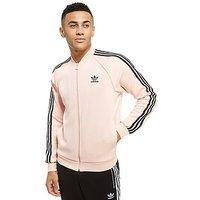 adidas Originals Superstar Track Top - Pink/Black - Mens
