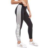 adidas Originals Linear Leggings - Black/Grey - Womens