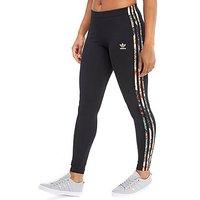 adidas Originals 3-Stripes Leggings Farm Pack - Black - Womens