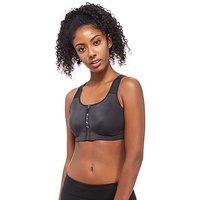 Nike Zip Sports Bra - Black/White - Womens