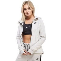 Nike Tech Fleece Hoody - Light bone/Black - Womens