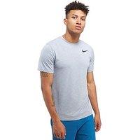 Nike Breathe T-Shirt - Grey - Mens