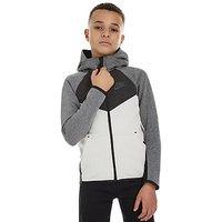 Nike Tech Colour Block Windrunner Junior - Grey/Black - Kids
