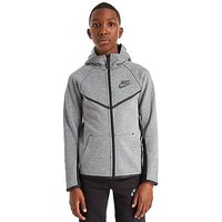 Nike Tech Windrunner Hoody Junior - Carbon/Black - Kids
