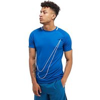 Nike Academy Logo T-Shirt - Blue - Mens