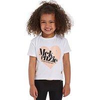 McKenzie Girls Holly Crop T-Shirt Children - White - Kids