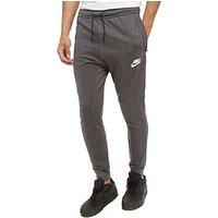 Nike Advance Fleece Pants - Charcoal/Black - Mens
