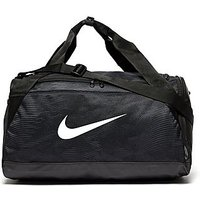 Nike Brasilia Small Duffle Bag - Black/White - Mens