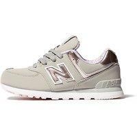 New Balance 574 Children - Grey/Pink - Kids