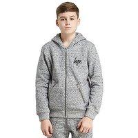 Hype Zip Pocket Hoody Junior - Grey/Black - Kids