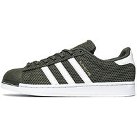 adidas Originals Superstar Knit - Cargo/White - Mens