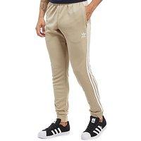 adidas Originals Superstar Poly Track Pants - Beige/White - Mens