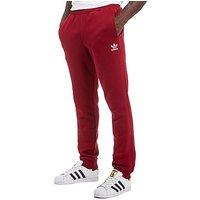 adidas Originals Trefoil Full Length Pants - Burgundy/White - Mens