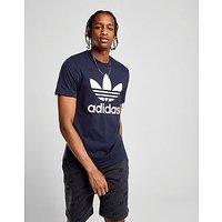 adidas Originals Trefoil T-Shirt - Ink Blue/White - Mens