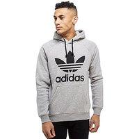 adidas Originals Trefoil Hoody - Grey/Black - Mens