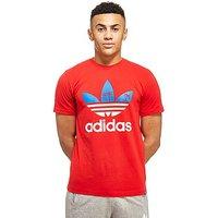 adidas Originals Trefoil Palm T-Shirt - Red/White/Blue - Mens