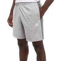 adidas 3-Stripes Essential Shorts - Grey/Black - Mens