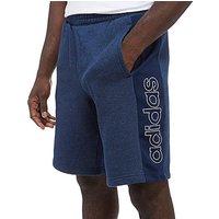 adidas Linear Fleece Shorts - Navy - Mens